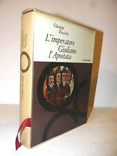 Storia Cristianità - Ricciotti: Imperatore Giuliano Apostata 1962 Mondadori