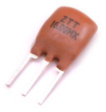5x CERAMIC RESONATOR 16.00MHz 16.0MHz 16MHz 3 PIN ZTT Series Ocillator USA