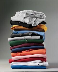 Champion Mens Size S-3XL Full Zip-Up Hooded Sweatshirt Fleece Hoodie, Hood, S800