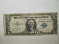 SERIES 1935 E ONE DOLLAR SILVER CERTIFICATE BLUE SEAL