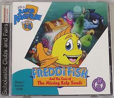FREDDI FISH: CASE OF THE MISSING KELP SEEDS COMPUTER PC GAME! NEAR MINT!