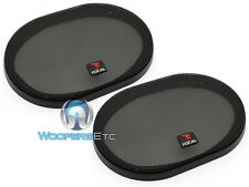 "(2) FOCAL 6"" X 9"" SPEAKER COAXIAL COMPONENT PROTECTIVE GRILLS COVERS ONLY PAIR"