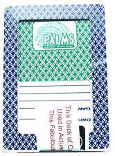 PALMS 4 Paquetes / Mazos Cartas Jugar Póquer Las Vegas Baraja Casino Poker