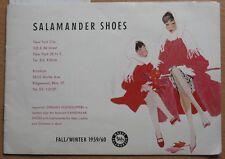 Catalog Catalogue Salamander Shoes 1959 Shoe Vintage Design Footwear Boots Feet