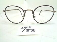 ea723cc810b79 Vintage JOSEPH ABBOUD Eyeglasses JA3 Mod.102 Tortoise Round 1990s (DER-138)