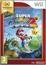 Mario Galaxy 2 Select for Nintendo Wii Marios Adventure with Yoshi cosmic NEW