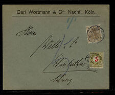 Germany  cover to Switzerland  postage due                 KL0326