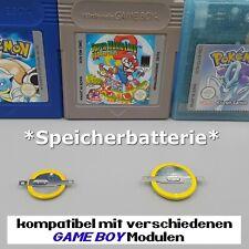 🔋 Ersatz Batterie Speicher Spielestand für Nintendo Gameboy Pokemon Zelda Mario