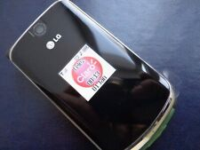 LG mg810 (KG810) - Black (Unlocked) LG Black Zafiro ( KG800 Chocolate) RARE flip