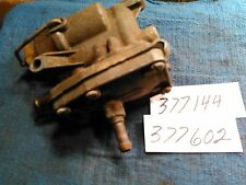 johnson / evinrude, 58-35hp.fuel pump, 377144,377602