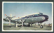 1940's PPC* United DC-6 Mainliners Good Card Used