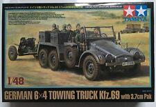 Tamiya 1/48 Maßstab Deutsche 6x4 Abschleppwagen Kfz.69 mit 3.7cm Pak