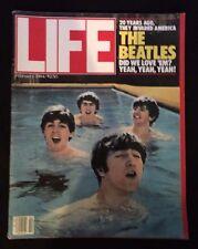LIFE Magazine BEATLES Cover February 1984 John Lennon Paul McCartney Ringo Georg