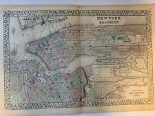 1917 RICHMOND RANDALL MANOR STATEN ISLAND NEW YORK SAILORS SNUG HARBOR ATLAS MAP