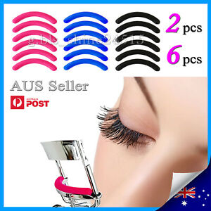 2x,6x Eyelash Curler Refill Replacement Pads Silicone Gel Rubber Make Up Women