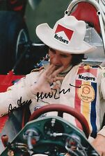 Arturo Merzario Firmato a Mano 12x8 photo formula 1 f1 5.