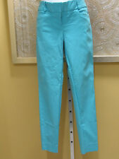 The Limited Exact Stretch Size 6 Career Turquoise Blue Ladies Pants