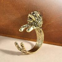 Fashion Silver Cute Cat Kitten Ear Design Adjustable Open Ring Nice Jewelry Gift