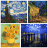 Van Go Famous Painting DIY Paint Oil Painting By Numbers Kit Art Home Wall Decor