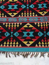 Accent Throw Afghan OACCENT-1A Southwest Southwestern Geometric Design 4' X 5' B