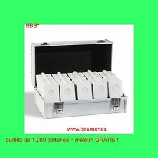 1000 Cartones AUTOADHESIVOS c/solapa + MALETIN Aluminio GRATISssssssssssssssssss