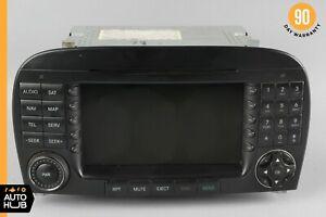 05-08 Mercedes R230 SL500 SL65 AMG Command Head Unit Radio Navigation CD OEM