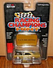1968 Plymouth Car Emblem & Stand 1:62 Issue 90 Limited Ed Racing Champions MINT