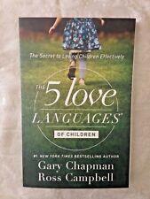 """The 5 love Languages of Children"" Book Secrets 2 love Children Effectively NEW"