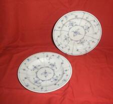 2 Suppenteller Rauenstein Greiner 1890? Porzellanteller gemarkt plate porcelaine