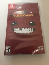 Limited Run Super Meat Boy Nintendo Switch Alternate Cover Region Free Brand New
