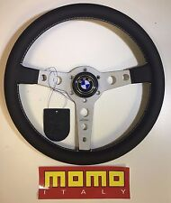 MOMO Prototipo Steering Wheel 350mm, PLUS HUB, BMW E3 E9 320 2002 533 PRO35BK2S