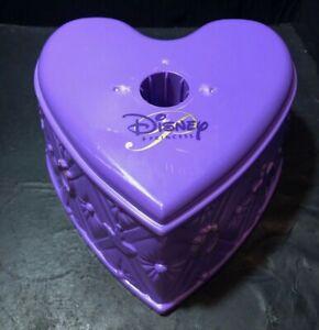 Disney Home Inspirations Princess Christmas Tree Base Stand Heart-Shaped Purple