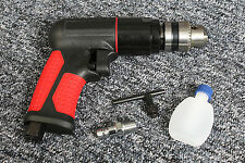 "3/8"" KEYED CHUCK PISTOL GRIP REVERSIBLE DRILL PNEUMATIC POWER TOOLS"