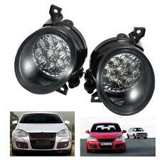 1 Pair 9 LED Fog Light White Lamp fit for VW GOLF GTI MK5 JETTA 05-09 Sedan 4 DR