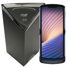 NUOVO CON SCATOLA Motorola Razr 5G DUAL-SIM XT2071-4 256GB sbloccato di fabbrica di grafite SIMFREE