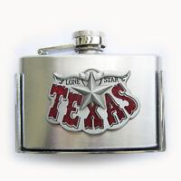 Men Buckle Texas Star 3oz Flask Belt Buckle Gürtelschnalle Boucle de ceinture