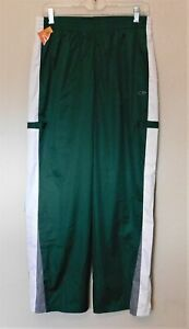 Champion Active Wear Pants Boys XL Green White Lined Waist 29 Polyester NEW
