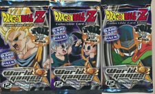 Dragonball Z CCG Collectible Card Game World Games Saga Booster Pack Lot 32ct