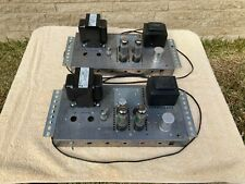 Homebrew EL34 6CA7 Tube Monoblock Amp Pair Amplifier