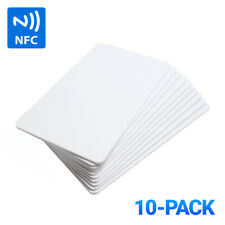 10-Pack NTAG215 Blank NFC Cards Tags NTAG 215 TagMo Amiibo Compatible