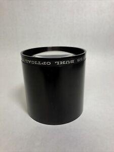 """Buhl Optical Co 14 INCH EFL f/3.5 Pittsburg PA 4"""" Wide 4"""" Long"""