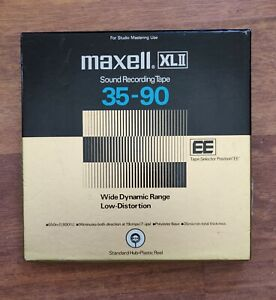 MAXELL XLII 35-90 Reel to Reel Position EE  Tape - New Open Box