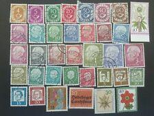 GERMAN FEDERAL REPUBLIC - BERLIN 1949-1976 STAMPS.  USED & UNUSED