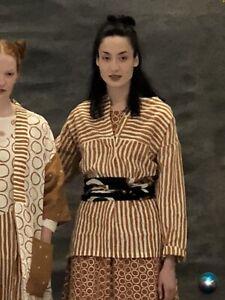 Gudrun Sjoden Cotton  /Linen Tunic L (18)