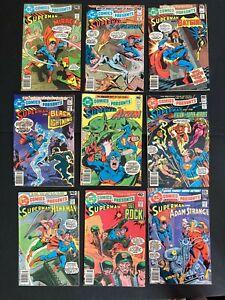 DC Comics Presents 3,10,11,12,13,15,16,18,19 High Grade High Grade Zatanna