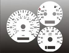 2000-2002 Mercedes ML320 ML430 Dash Cluster White Face Gauges 00-02