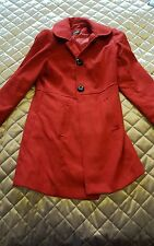 Red coat size 12 black buttons