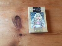 VINTAGE BUT NEW SEALED LO SCARABEO PLAYING CARDS ALICE IN WONDERLAND