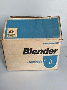 Vintage Hamilton Beach Blender Model 662-3 Scovill 14 Speed USA
