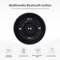 Car Steering Wheel Wireless Bluetooth Remote Control for iPhone Android Phone